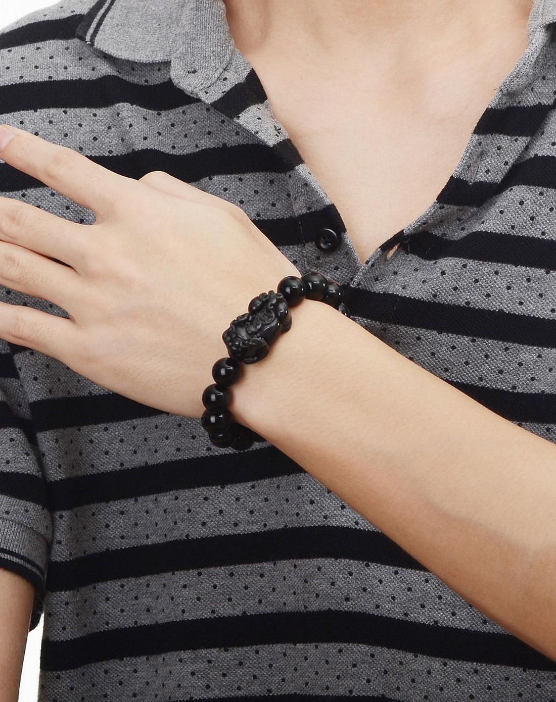 黑曜石貔貅手链戴哪只手好?