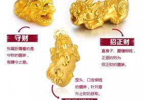 黄金貔貅价格一般多少钱 黄金貔貅价格多少钱一个?