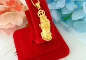 黄金貔貅的大小价格一样吗?黄金貔貅价格多少钱?