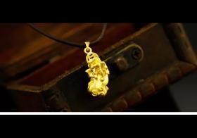 黄金貔貅手链多少钱,其中有什么寓意吗?