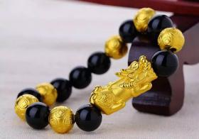 黄金貔貅手链怎么带 一定不要戴错