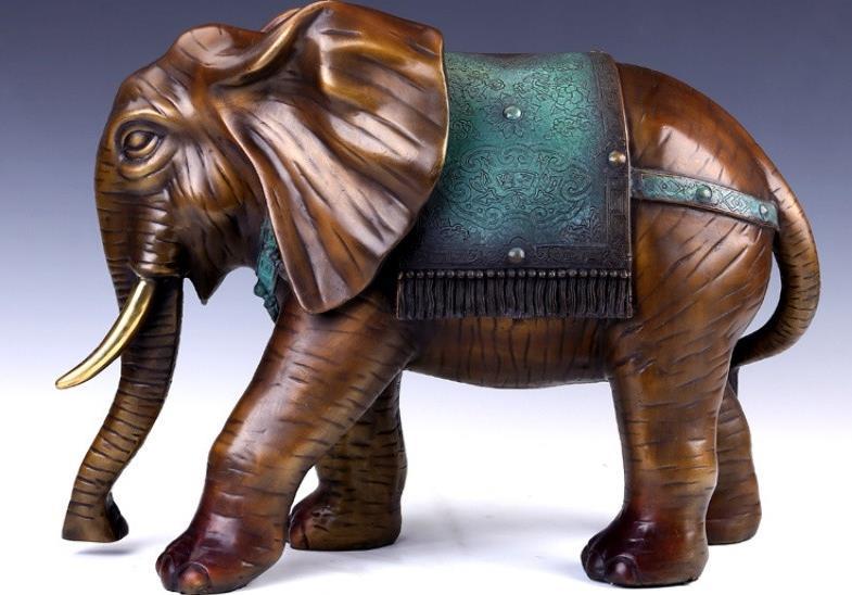 木雕大象摆件摆放有什么讲究