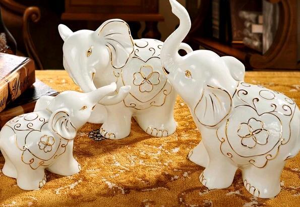 树脂大象摆件好吗 树脂大象有哪些寓意呢