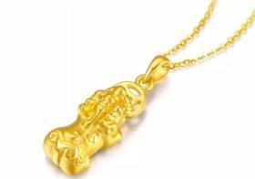 黄金貔貅吊坠价格是多少钱 貔貅有哪些开光注意事项