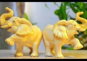 一对大象左右摆放图是什么?