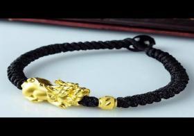 貔貅手链绳子的编法 貔貅手链怎么编好看
