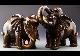 花梨木大象好不好 花梨木大象摆放有什么寓意和作用