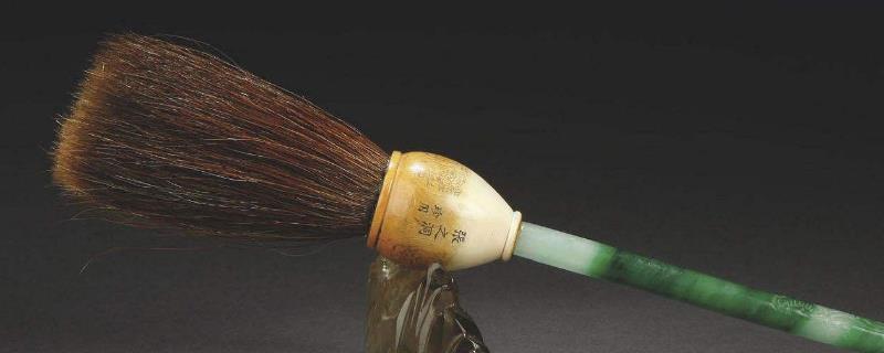 翡翠毛笔的寓意是什么意思