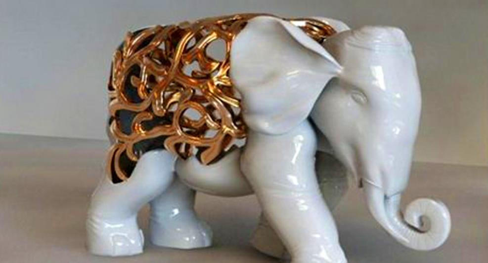 雕塑大象有什么寓意和风水作用?