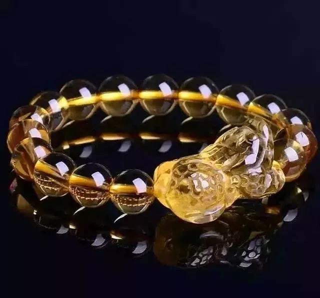 金发晶手链的功效与作用