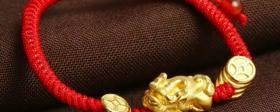 女士黄金貔貅手链图片适合佩戴 错过太可惜