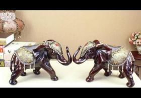大象家居招财风水布局如何摆放 一对大象左右摆放图片有哪些?