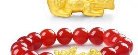 金店卖的黄金貔貅手链怎么样?