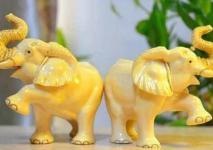 大象摆件的寓意是什么